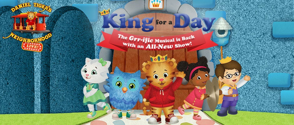 Daniel Tiger\'s Neighborhood Live | Bergen Performing Arts Center