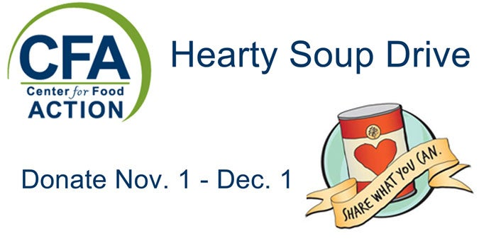 Bergenpac Kicks Off November Hearty Soup Can Drive For The Center